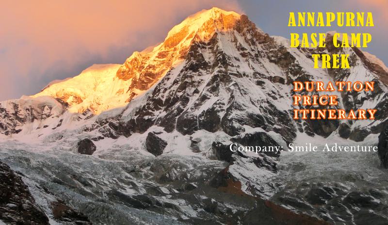 Annapurna Base Camp Trek 7 Days (Itinerary, Price, Best Time to trek)