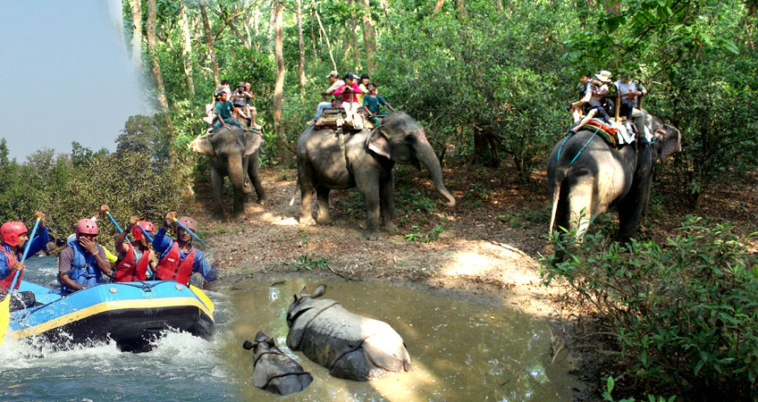 3 Days – Chitwan Jungle Safari and Rafting