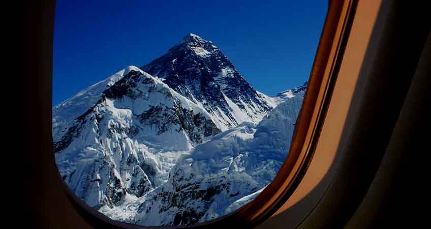 Everest Mountain Sightseeing Flight Tour