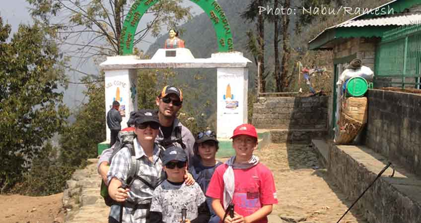 Trekking in Nepal With Family and Kids