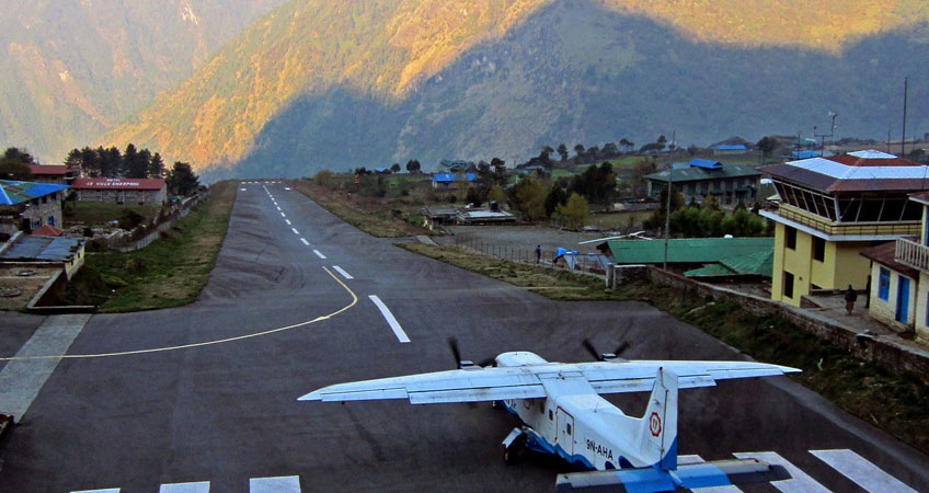 Kathmandu to Namche Bazaar by Flight